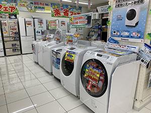 洗濯機売り場